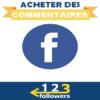 Acheter des Commentaires Facebook