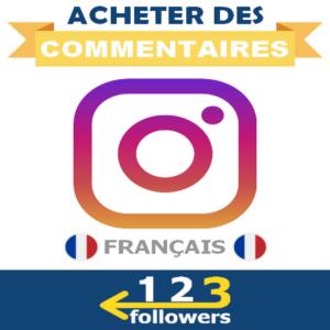 Acheter des Commentaires Instagram