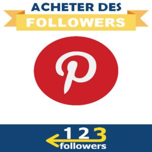 Acheter des Followers Pinterest