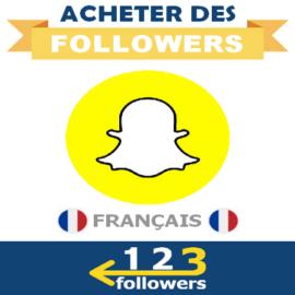 Acheter des Followers (Vues) Snapchat Français
