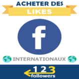 Acheter des Likes Facebook Internationaux
