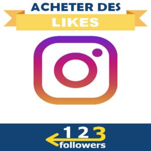 Acheter des Likes Instagram