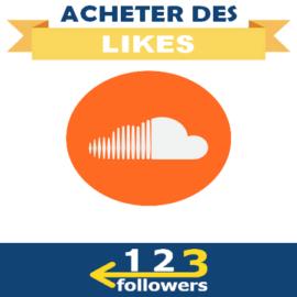 Acheter des Likes Soundcloud