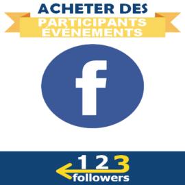 Acheter des Participants pour Événement Facebook