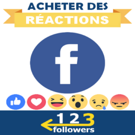 Acheter des Réactions Facebook