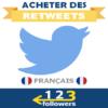Acheter des Retweets Français