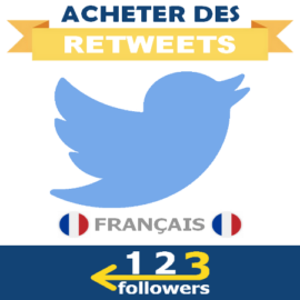 Acheter des Retweets Twitter Français