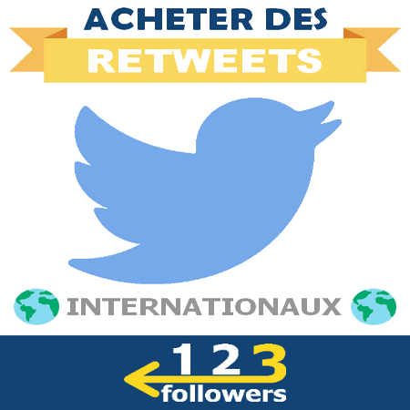 Acheter des Retweets Internationaux