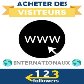 Acheter des Visiteurs Internationaux pour son Site