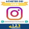Acheter des Vues Photo Vidéo Instagram
